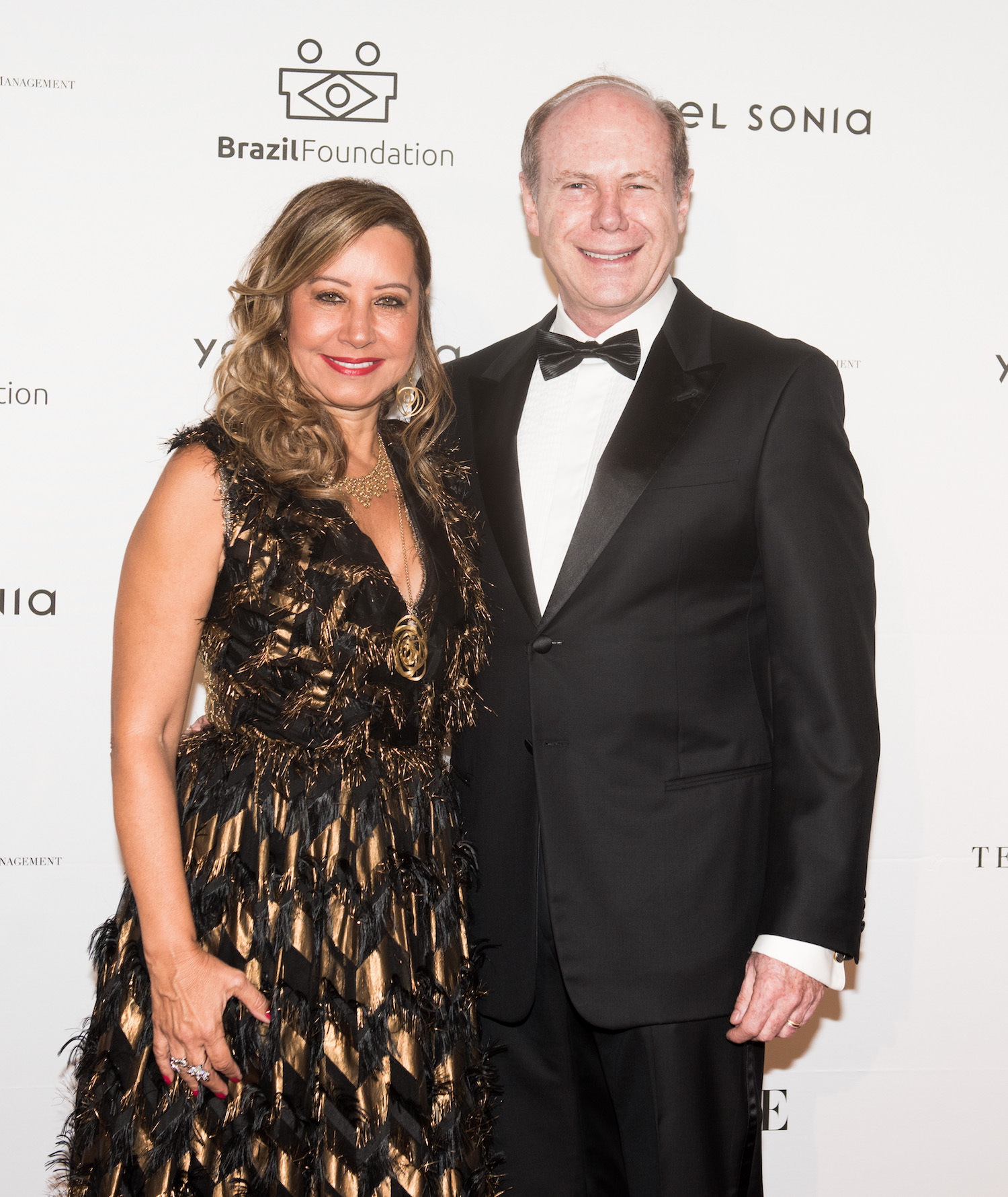 Iracilda & Pedro Lichtinger BrazilFoundation XVI Gala New York Celebrating the Amazon Plaza