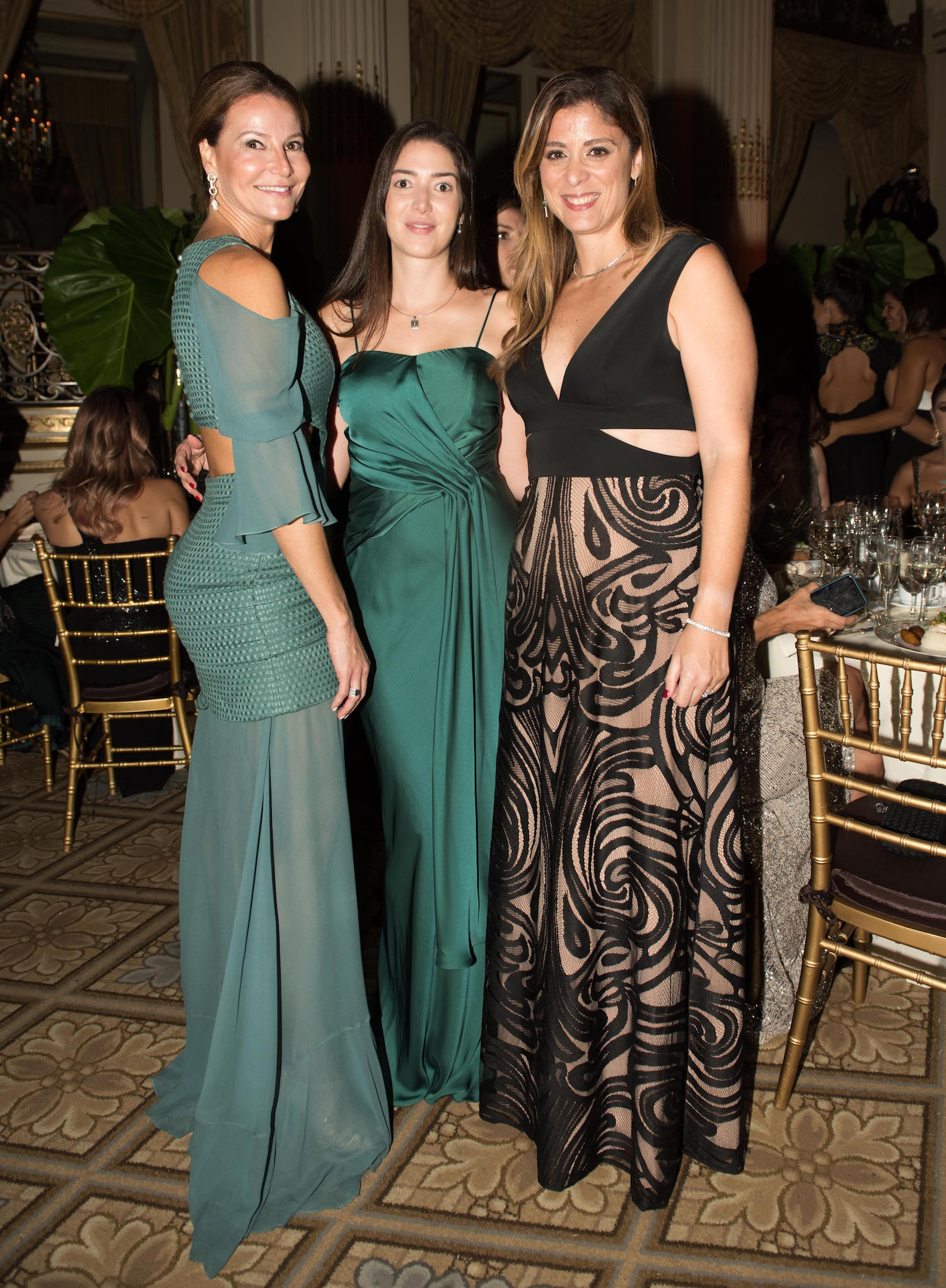 Rejane de Paula, Claudia D'Orey BrazilFoundation XVI Gala New York Celebrating the Amazon Plaza