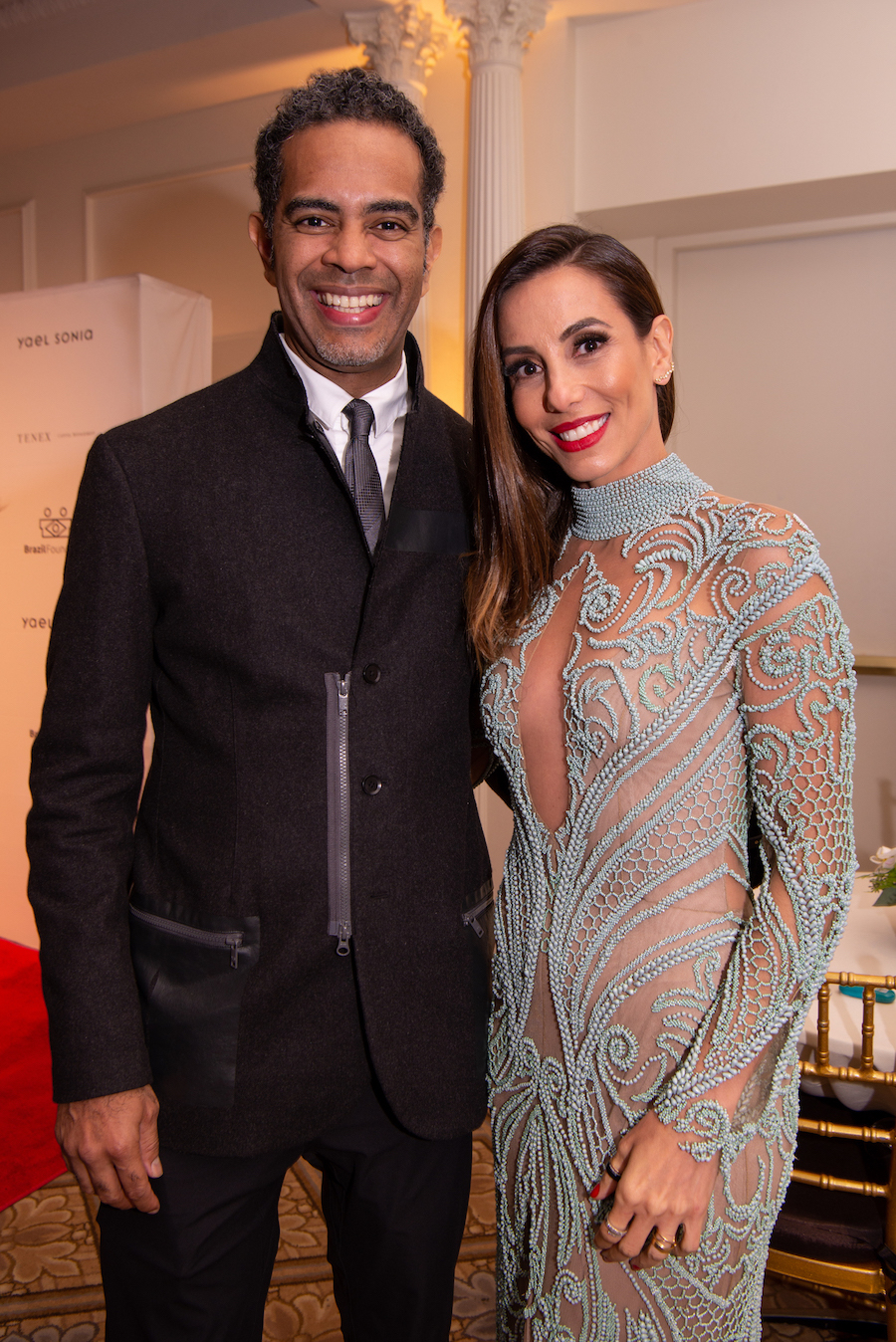 Jair & Khallil Oliveira BrazilFoundation XVI Gala New York Celebrating the Amazon Plaza