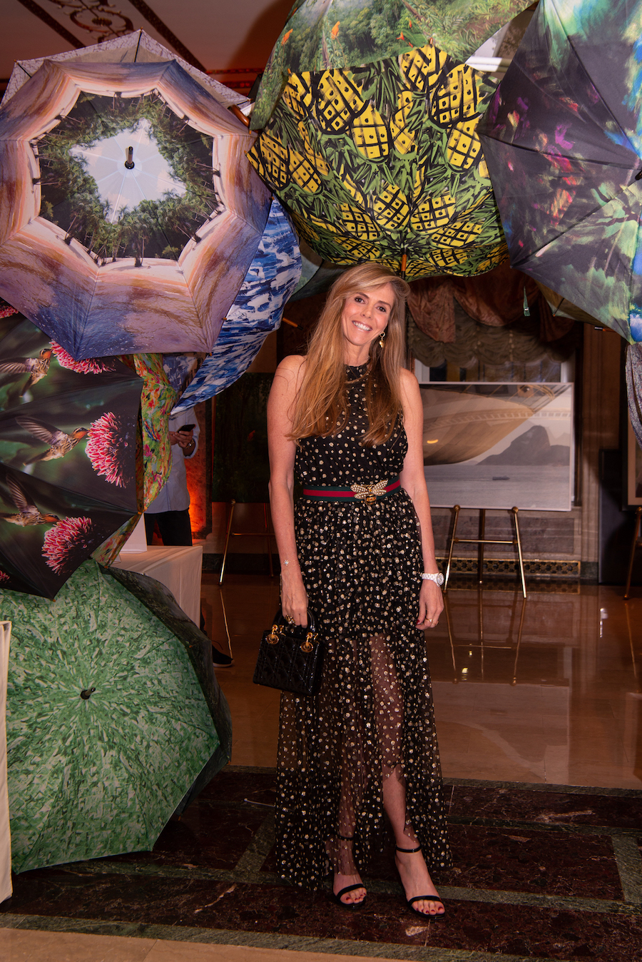 Sciacco Studio Umbrellas BrazilFoundation XVI Gala New York Celebrating the Amazon Plaza
