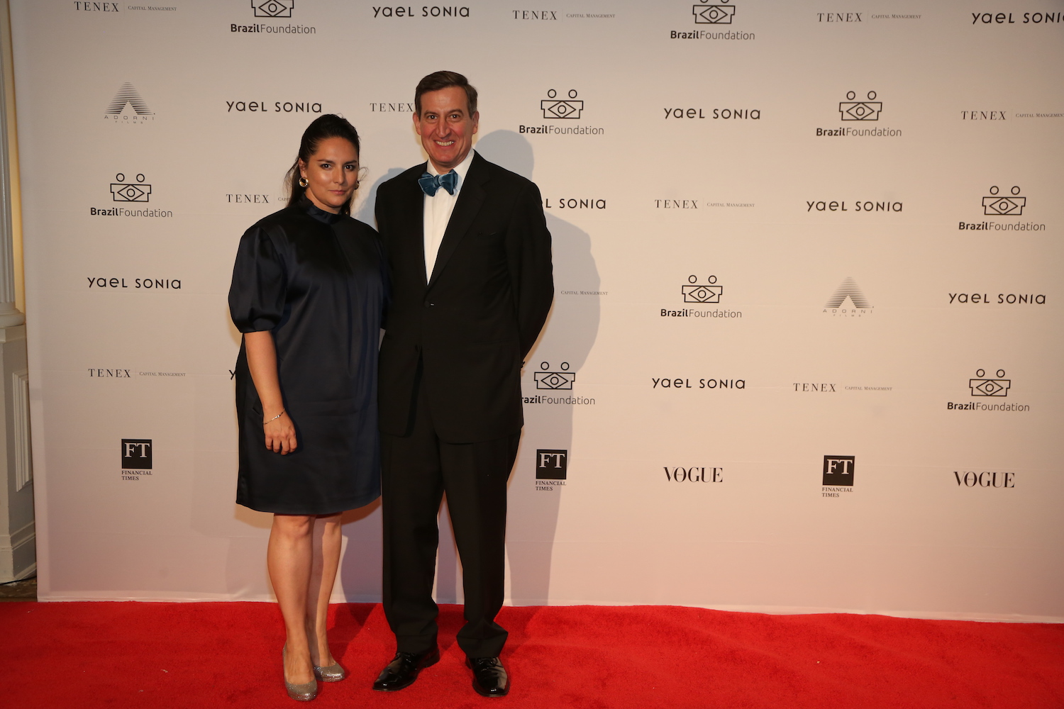 Sothebys August Uribe and Ana DiStasi BrazilFoundation XVI Gala New York Celebrating the Amazon Plaza