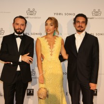 Jeff Ares, Katia Francesconi, Thiago Cavalli BrazilFoundation XVI Gala New York Celebrating the Amazon Plaza