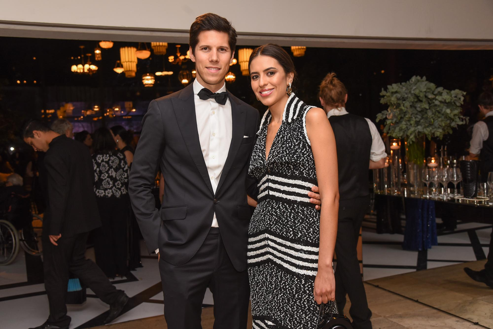 Amanda Cassou e Dominique Oliver V BrazilFoundation Gala São Paulo Chanel 2018 Filantropia Brasil Philanthropy Brazil