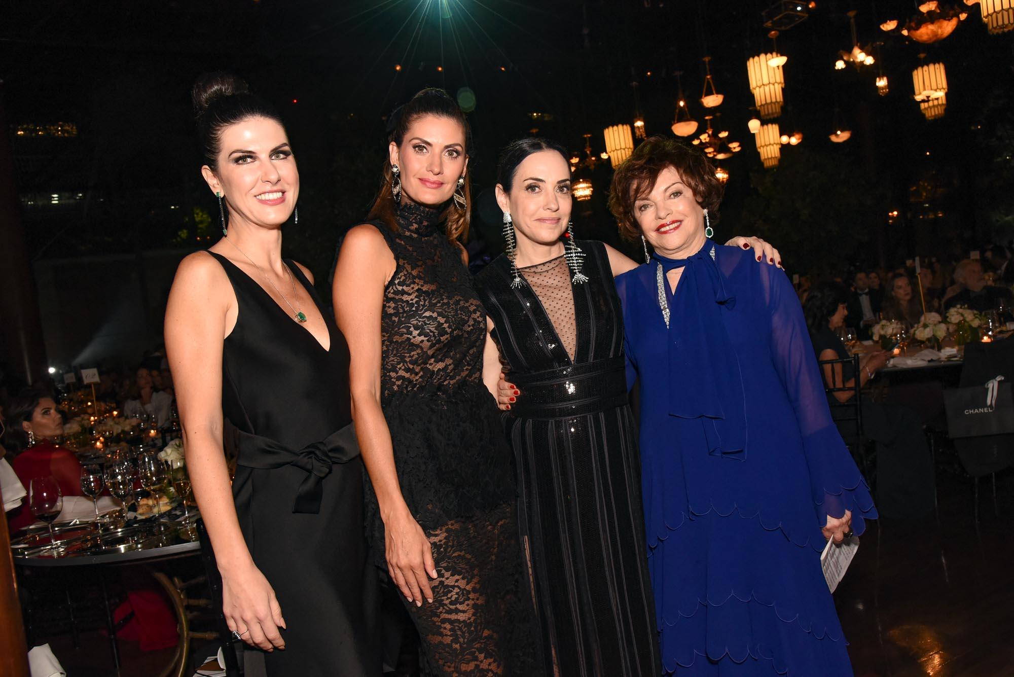 Andrea Bartelle, Isabella Fiorentino, Flavia Lafer e Anna Schvartzman V BrazilFoundation Gala São Paulo Chanel 2018 Filantropia Brasil Philanthropy Brazil