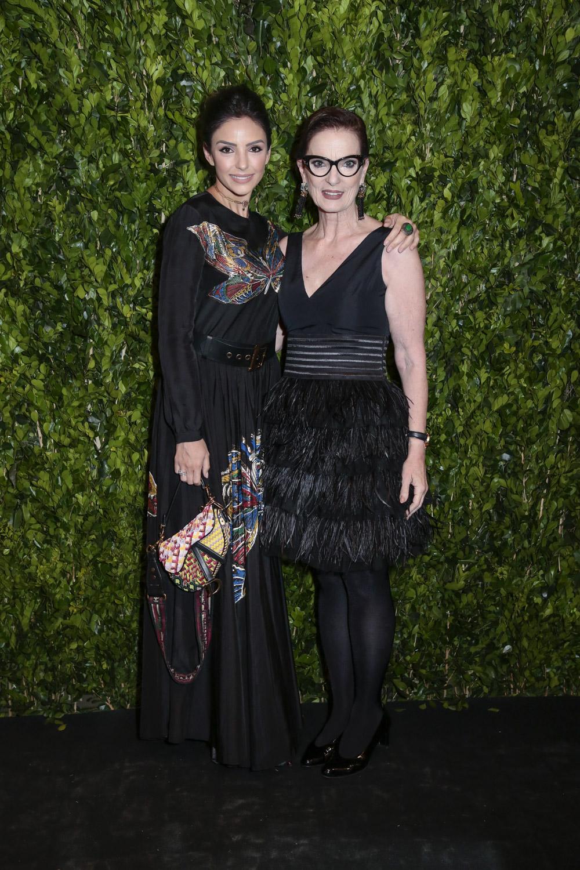 Carol Celico E Chris Ayrosa V BrazilFoundation Gala São Paulo Chanel 2018 Filantropia Brasil Philanthropy Brazil