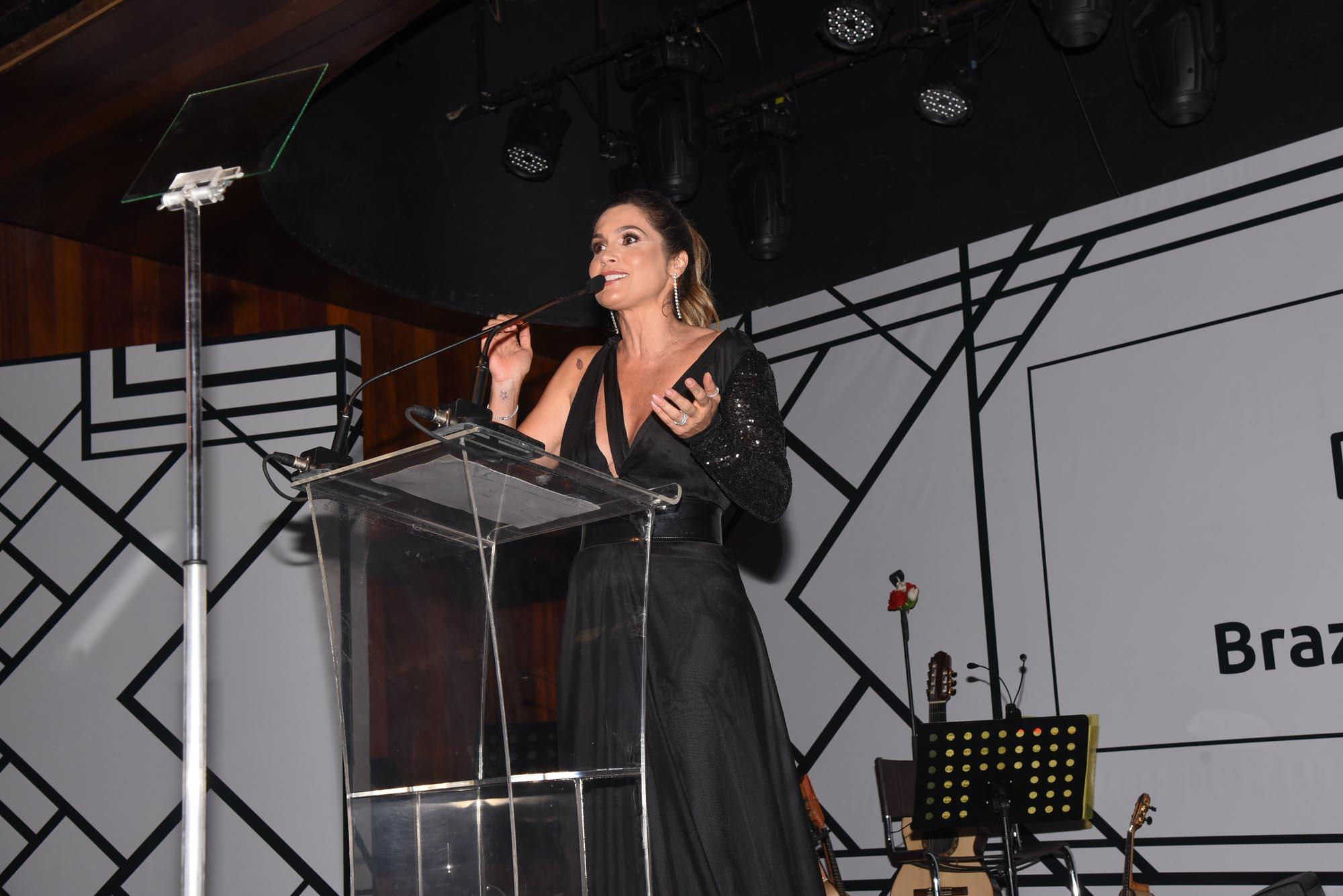 Flavia Alessandra V BrazilFoundation Gala São Paulo Chanel 2018 Filantropia Brasil Philanthropy Brazil
