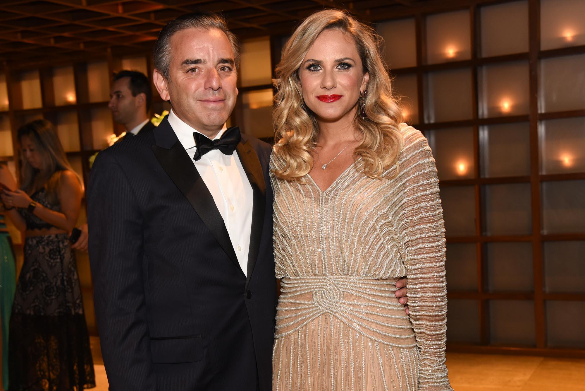 Guti e Fernanda Vidigal V BrazilFoundation Gala São Paulo Chanel 2018 Filantropia Brasil Philanthropy Brazil