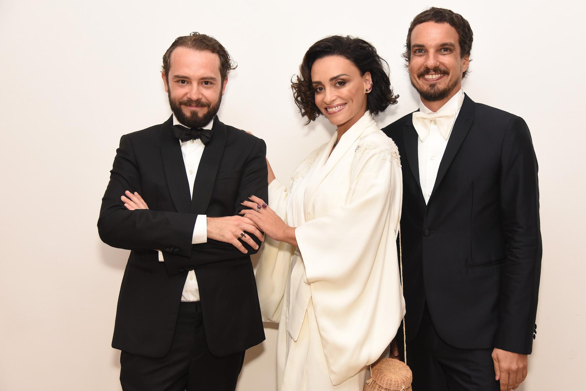 Jeff Ares, Suzana Pires e Thiago Cavalli V BrazilFoundation Gala São Paulo Chanel 2018 Filantropia Brasil Philanthropy Brazil