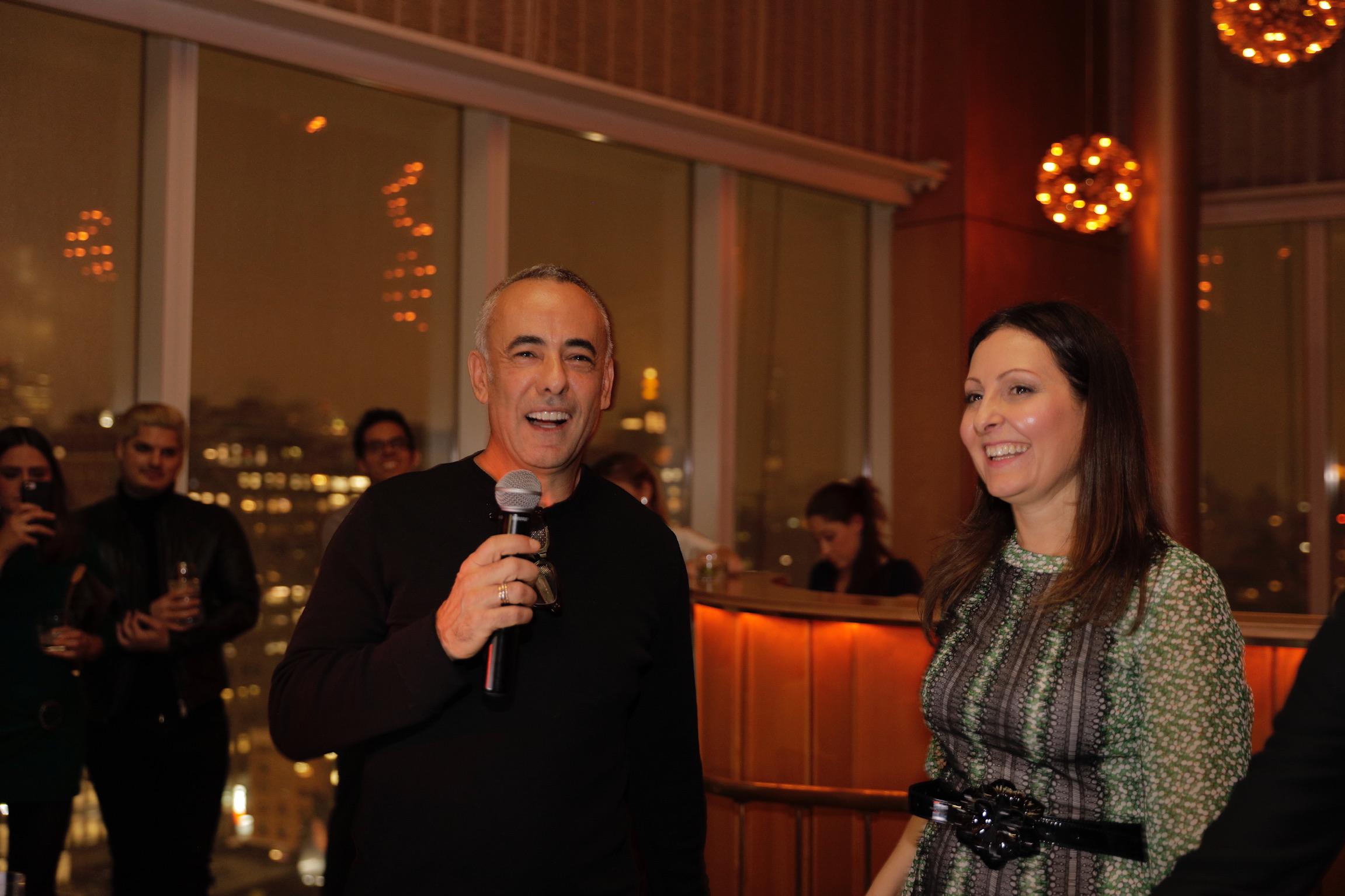 Francisco Costa, Patricia Lobaccaro An Evening of Solidarity for Brumadinho BrazilFoundation AbraceMinasGerais Charity New York
