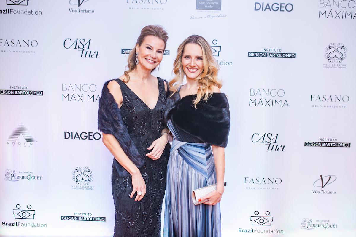 Rejane de Paula & Daniela Puggina Credito: Francisco Dumont BrazilFoundation II Gala Minas Gerais Belo Horizonte Filantropia 2019