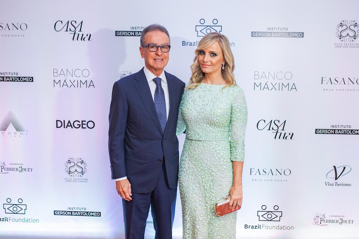 Eugênio & Camila Mattar Credito: Francisco Dumont BrazilFoundation II Gala Minas Gerais Belo Horizonte Filantropia 2019