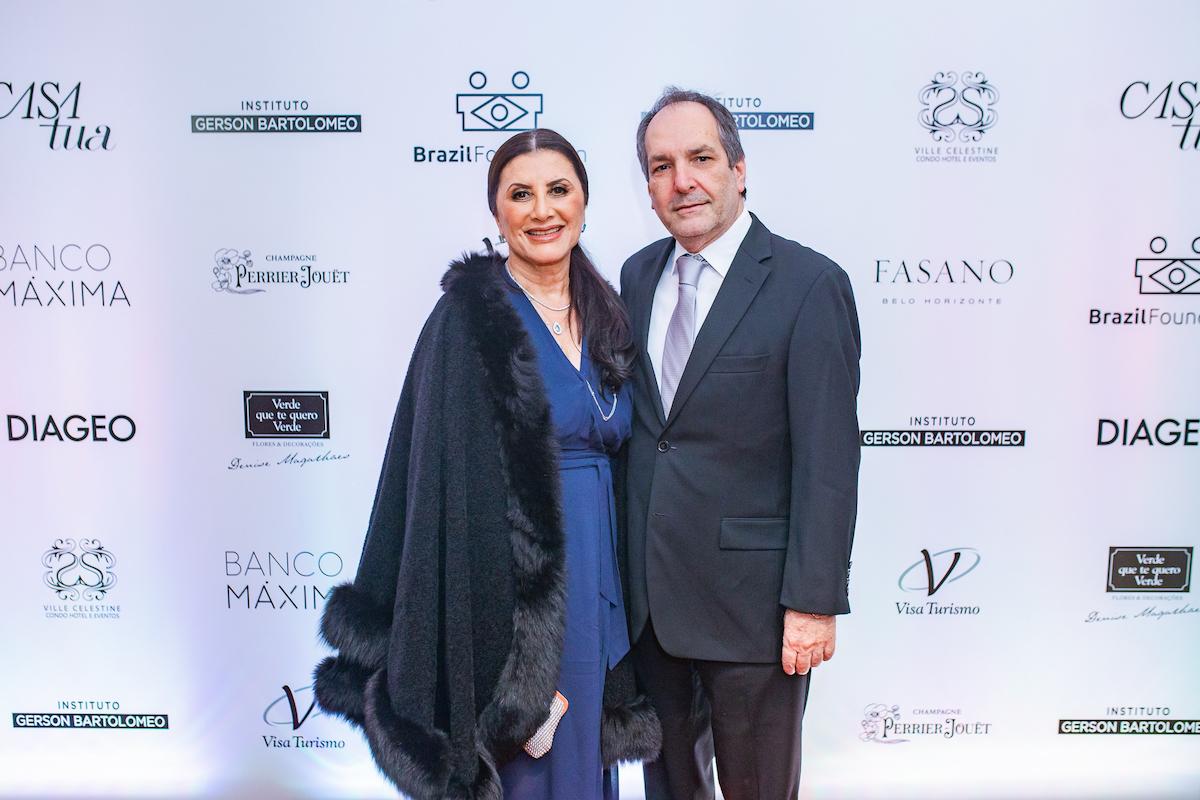 Denise Magalhães (Verde que te quero verde) Credito: Francisco Dumont BrazilFoundation II Gala Minas Gerais Belo Horizonte Filantropia 2019
