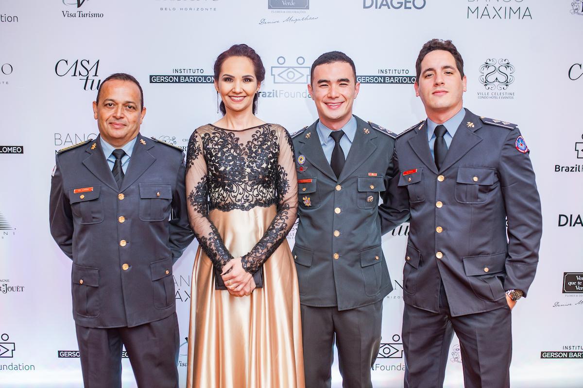 Corpo de Bombeiros Militar de Minas Gerais Credito: Francisco Dumont BrazilFoundation II Gala Minas Gerais Belo Horizonte Filantropia 2019