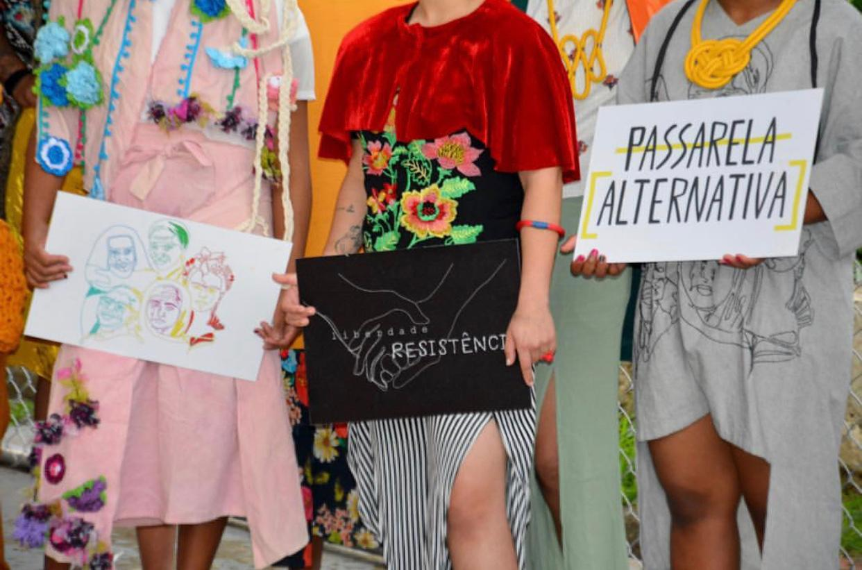 Passarela Alternativa Justiça restaurativa BrazilFoundation moda