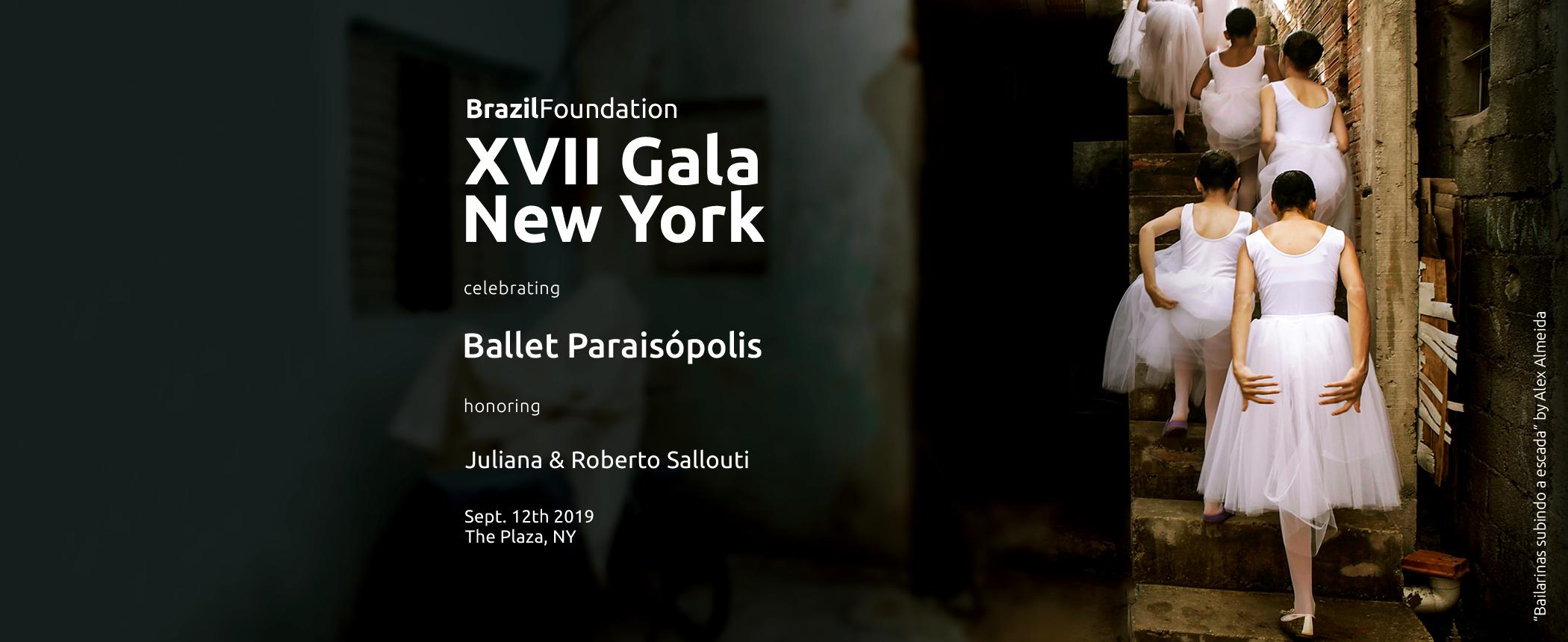 XVII Gala New York 2019 Ballet Paraisopolis Filantropia Philanthropy BrazilFoundation