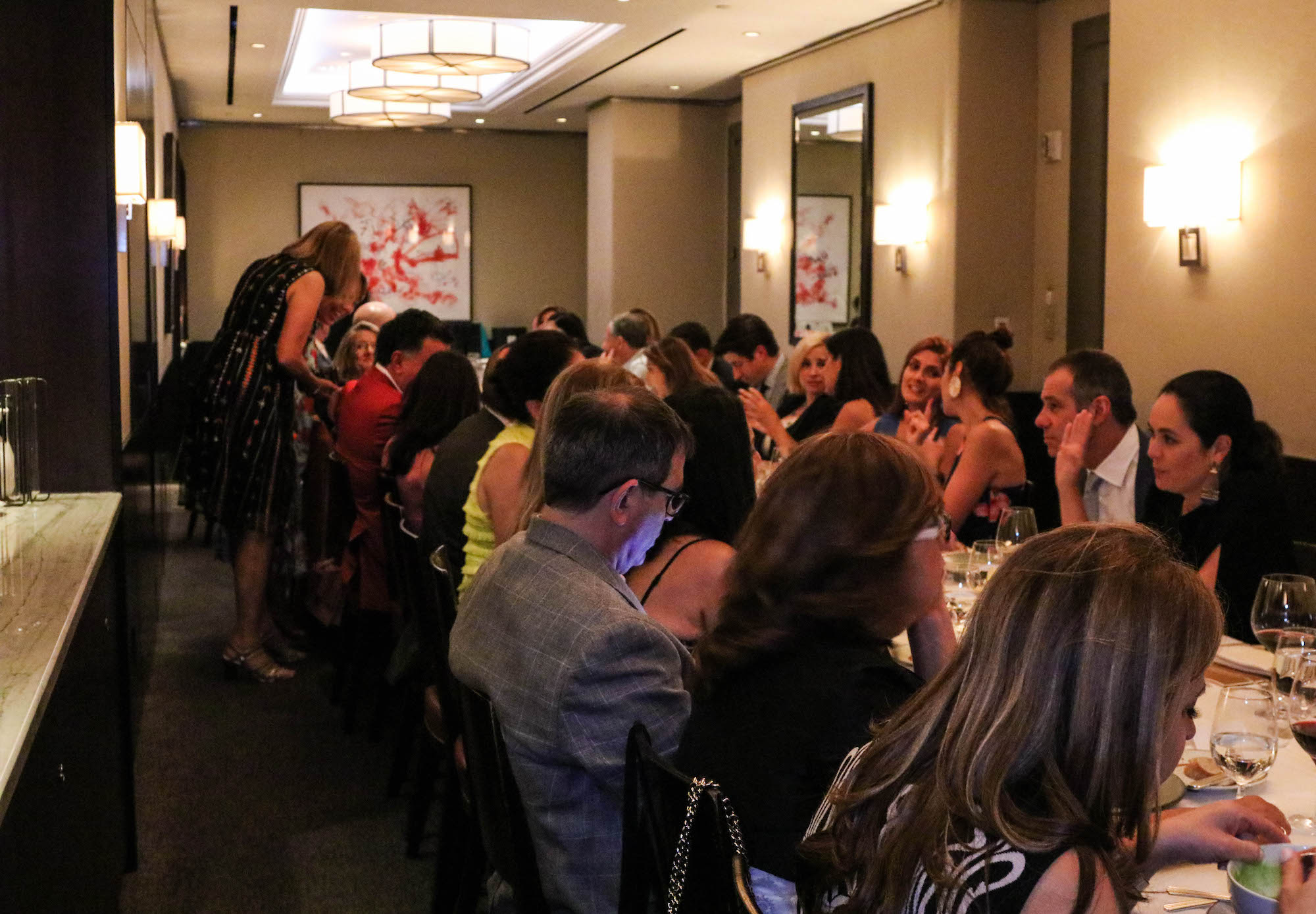 Cafe Boulud Fundraiser Daniel Boulud New York BrazilFoundation Brazil Philanthropy