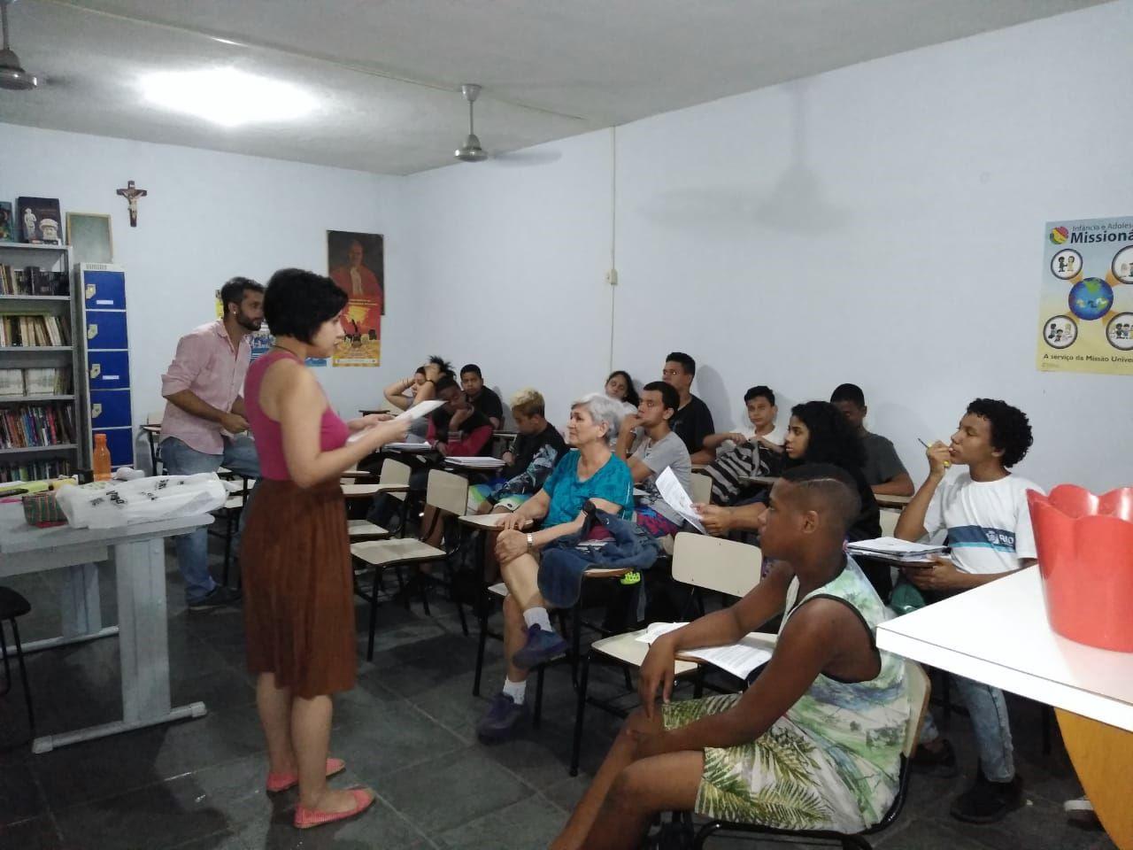 Projeto Roda-viva BrazilFoundation cordovil Rio de Janeiro Educação