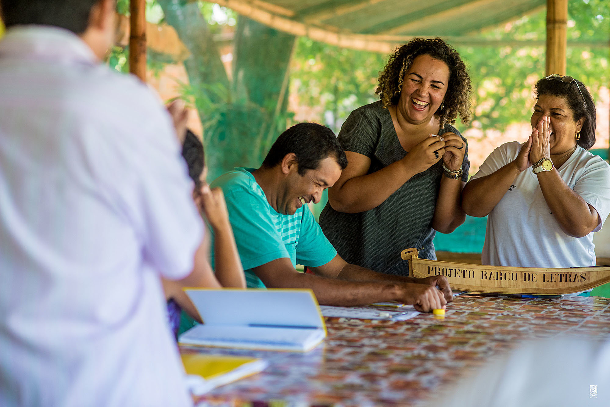 IPEDI Barco de Letras BrazilFoundation Alfabetizacao Mato Grosso do Sul Literacy Educacao Education