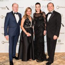 Pedro & Iracilda Lichtinger, Juliana & Roberto Sallouti BrazilFoundation Gala New York Philanthropy Brazil