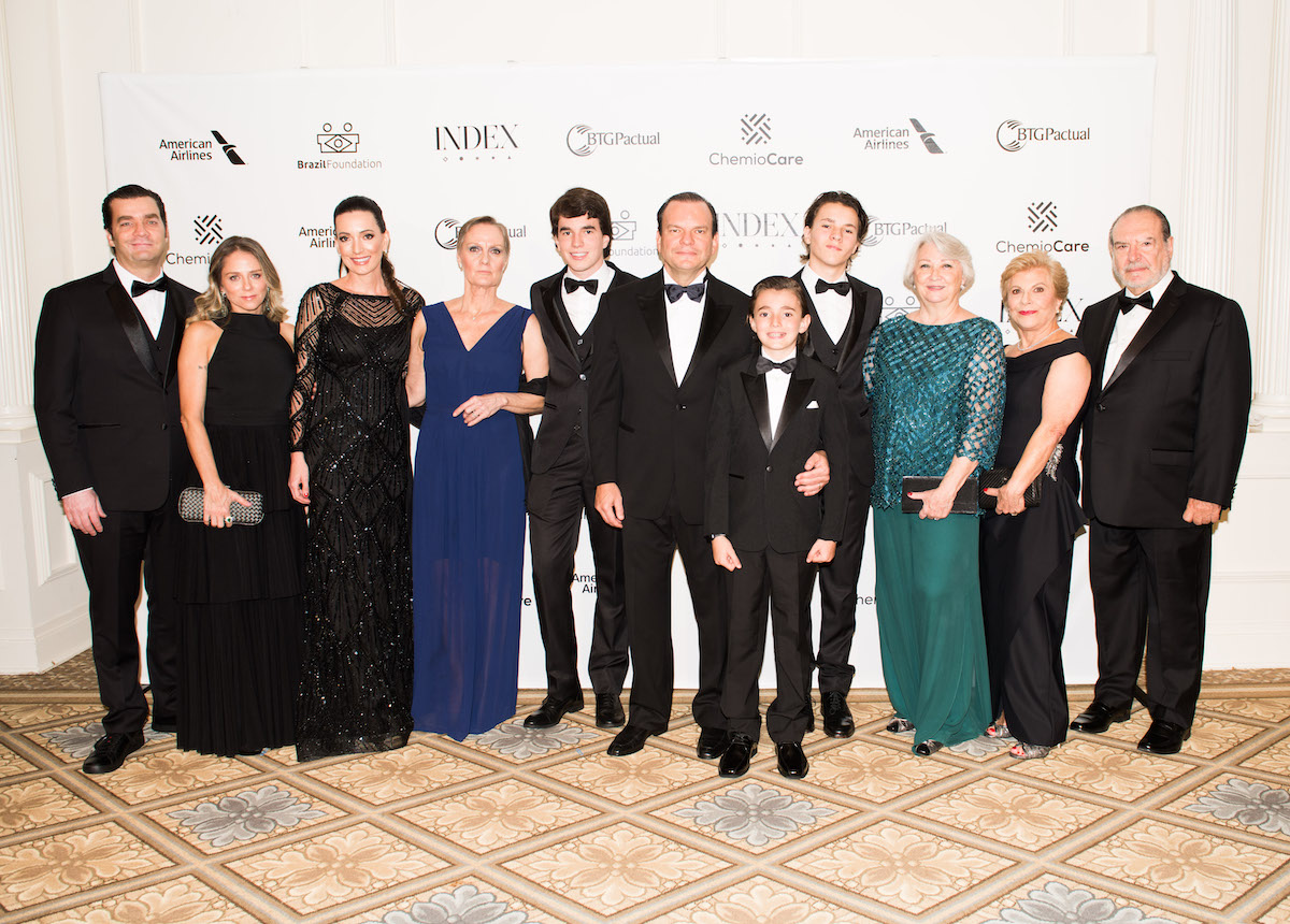 Sallouti Family BrazilFoundation Gala New York Philanthropy Brazil