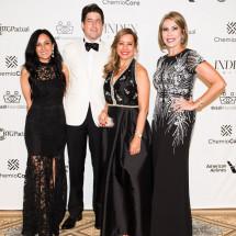 Nicholas Gennis (Van Cleef), Iracilda Lichtinger, Leda Nussbaum BrazilFoundation Gala New York Philanthropy Brazil