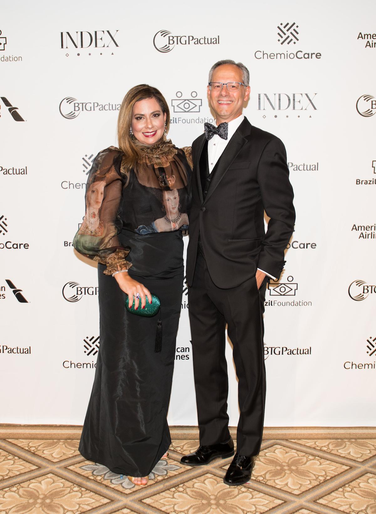 Claudia & Rodolpho Amboss, Silverpeak BrazilFoundation Gala New York Philanthropy Brazil