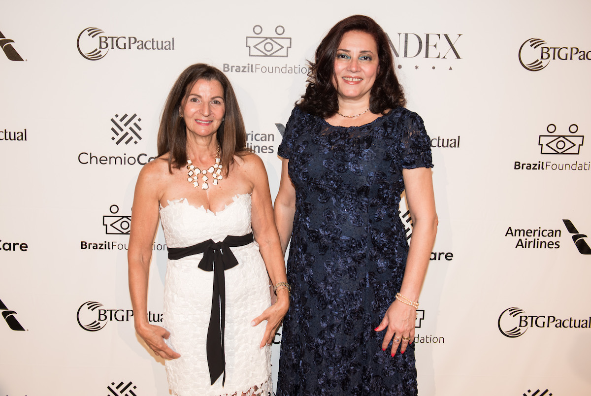 Nathalia Quesada & Regina Frasseto, American Airlines BrazilFoundation Gala New York Philanthropy Brazil