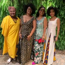 Charô Nunes, Ângela Brandão, Flávia Oliveira, Isabela Reis BrazilFoundation Gala São Paulo Mulheres Notáveis Women Philanthropy Filantropia