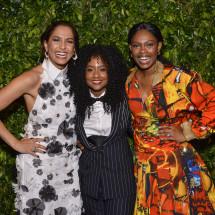 Camila Pitanga, Luiza Brasil e Xenia França BrazilFoundation Gala São Paulo Mulheres Notáveis Women Philanthropy Filantropia