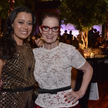 Daniela Filomeno Seripieri e Chris Ayrosa BrazilFoundation Gala São Paulo Mulheres Notáveis Women Philanthropy Filantropia