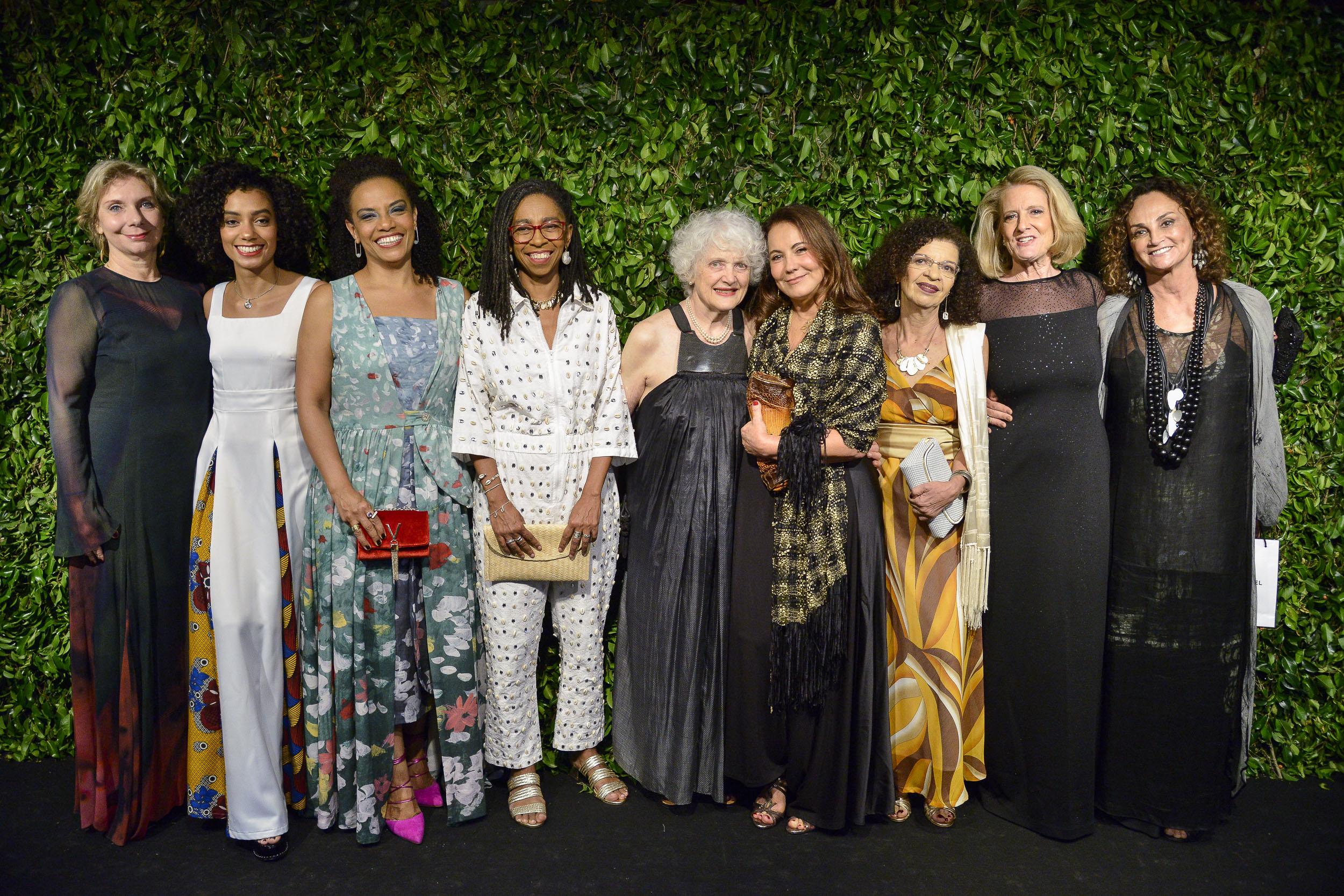 Mulheres Notáveis Rebecca Reichmann tavares, Leona Forman, BrazilFoundation Gala São Paulo Mulheres Notáveis Women Philanthropy Filantropia